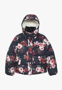 Abercrombie & Fitch - ESSENTIAL PUFFER - Winter jacket - navy - 1