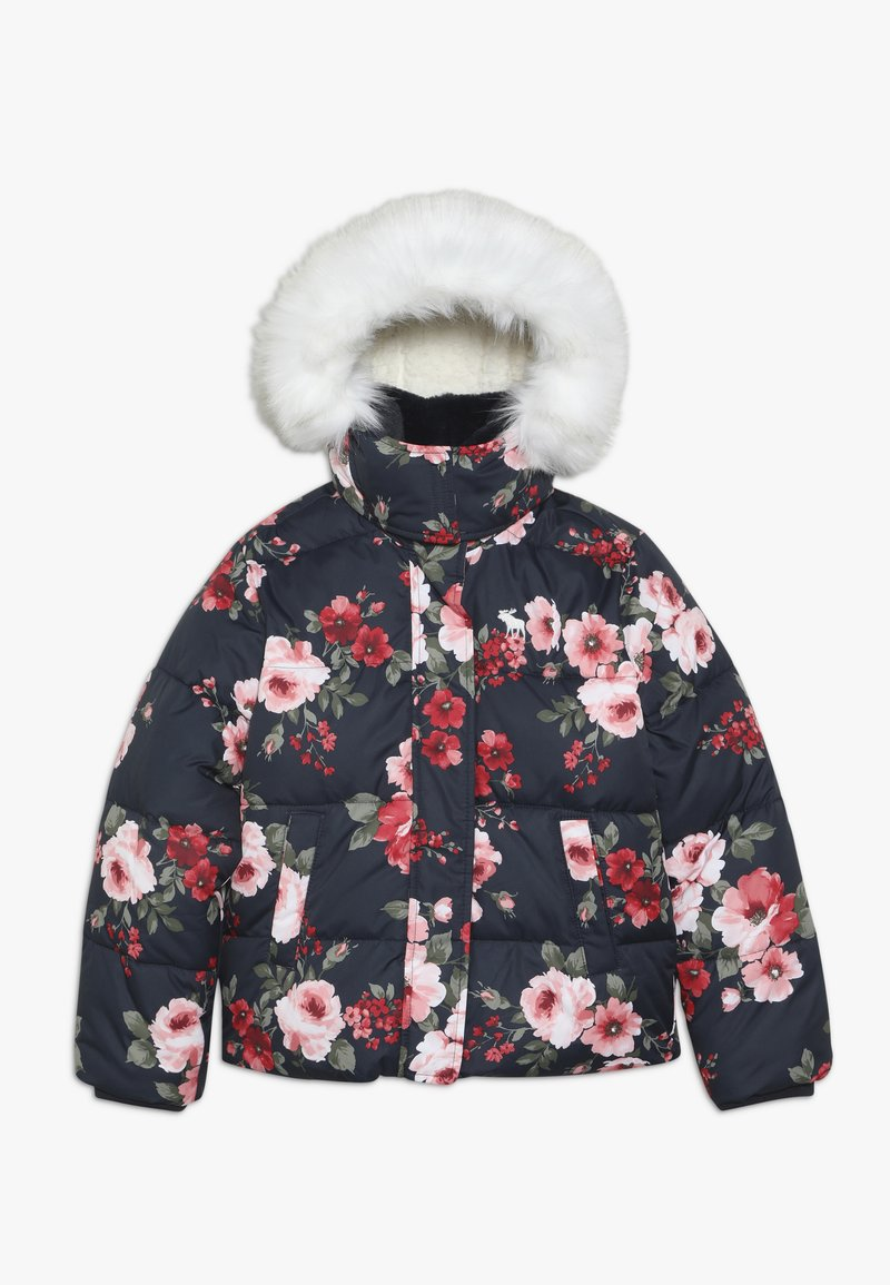 Abercrombie & Fitch - ESSENTIAL PUFFER - Winter jacket - navy