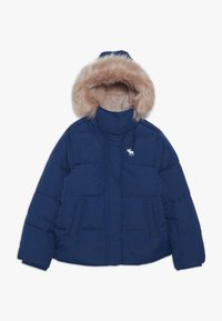 Abercrombie & Fitch - ESSENTIAL PUFFER - Winter jacket - blue - 0