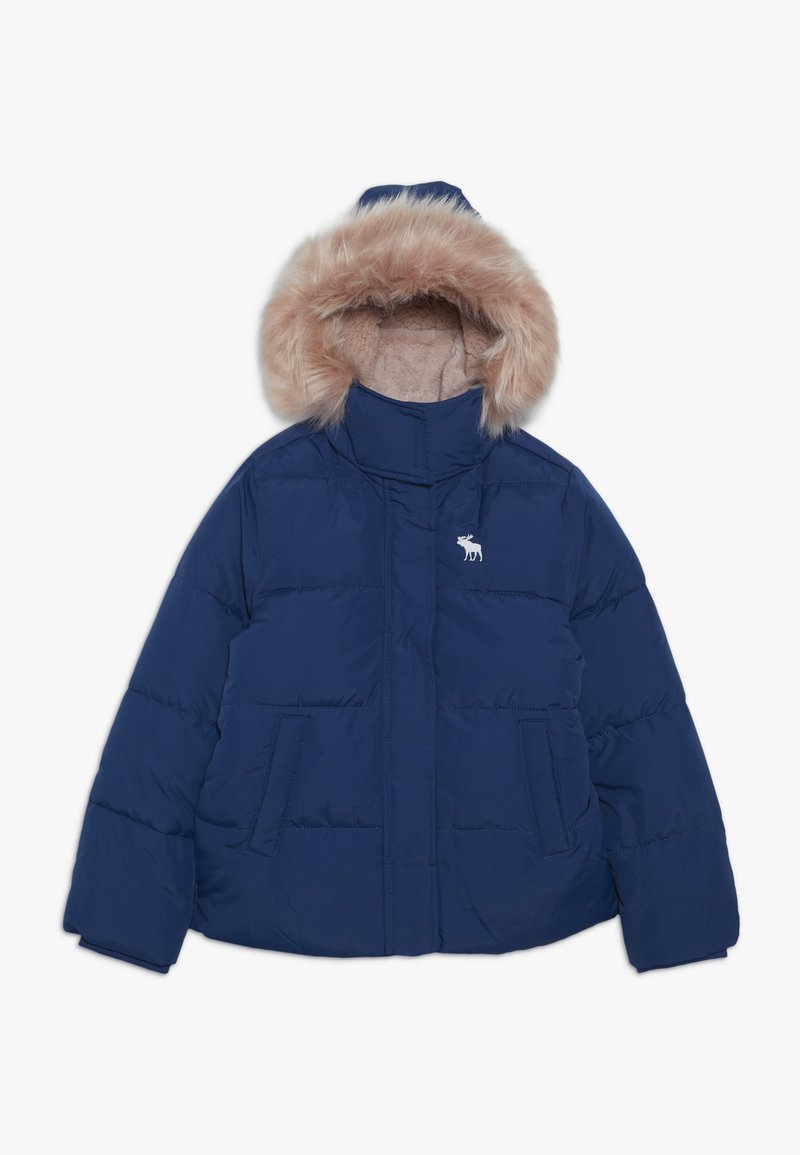 Abercrombie & Fitch - ESSENTIAL PUFFER - Winter jacket - blue