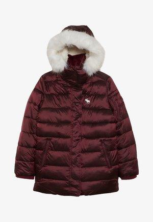 ADVENTURE - Zimní bunda - burgundy shine