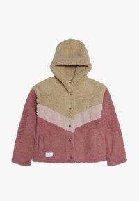 Abercrombie & Fitch - CHEVRON COZY - Light jacket - pink - 0