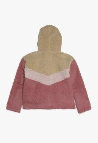 Abercrombie & Fitch - CHEVRON COZY - Light jacket - pink - 1