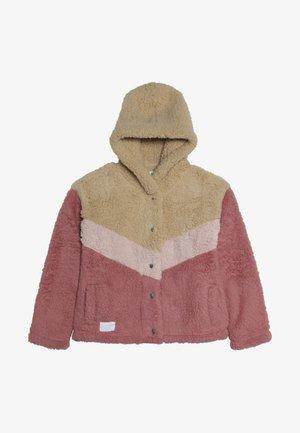 CHEVRON COZY - Lehká bunda - pink