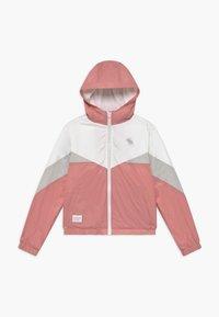 Abercrombie & Fitch - COLORBLOCK - Välikausitakki - pink/grey/white - 0