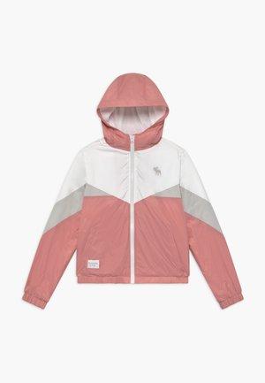 COLORBLOCK - Giacca da mezza stagione - pink/grey/white