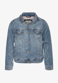 Abercrombie & Fitch - COZY JACKET  - Veste mi-saison - medium wash - 0