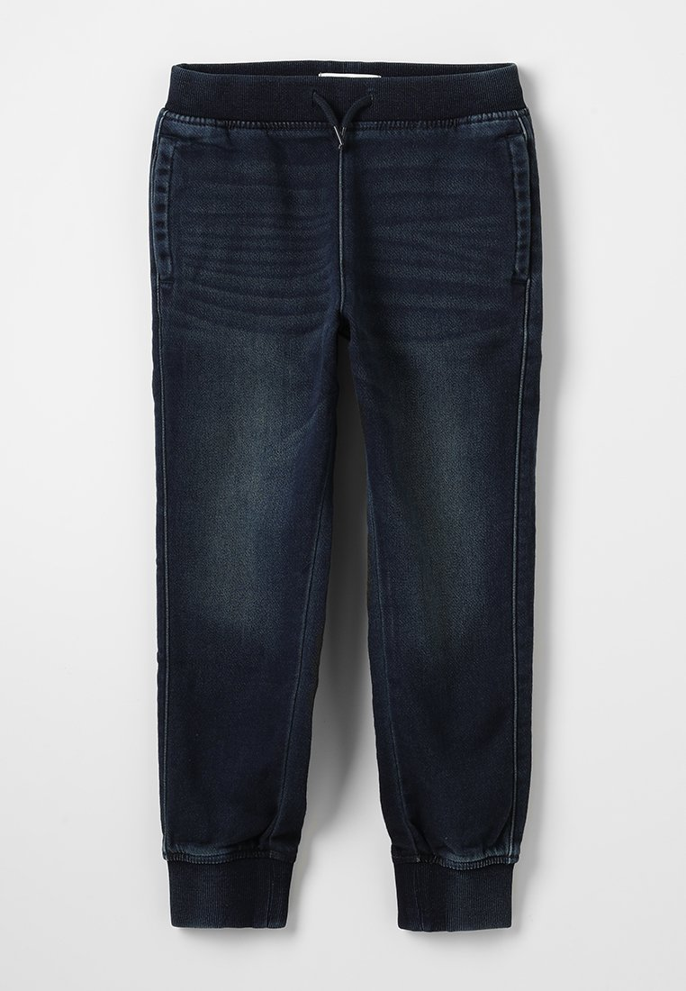 Abercrombie & Fitch - JOGGER - Jeans Relaxed Fit - dark wash