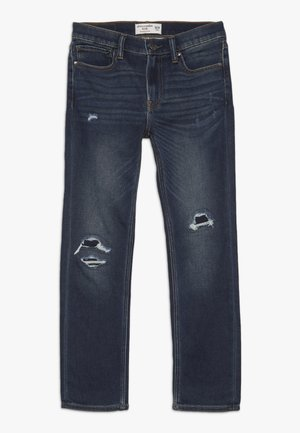 DARK DESTROY SKINNY  - Skinny džíny - dark blue