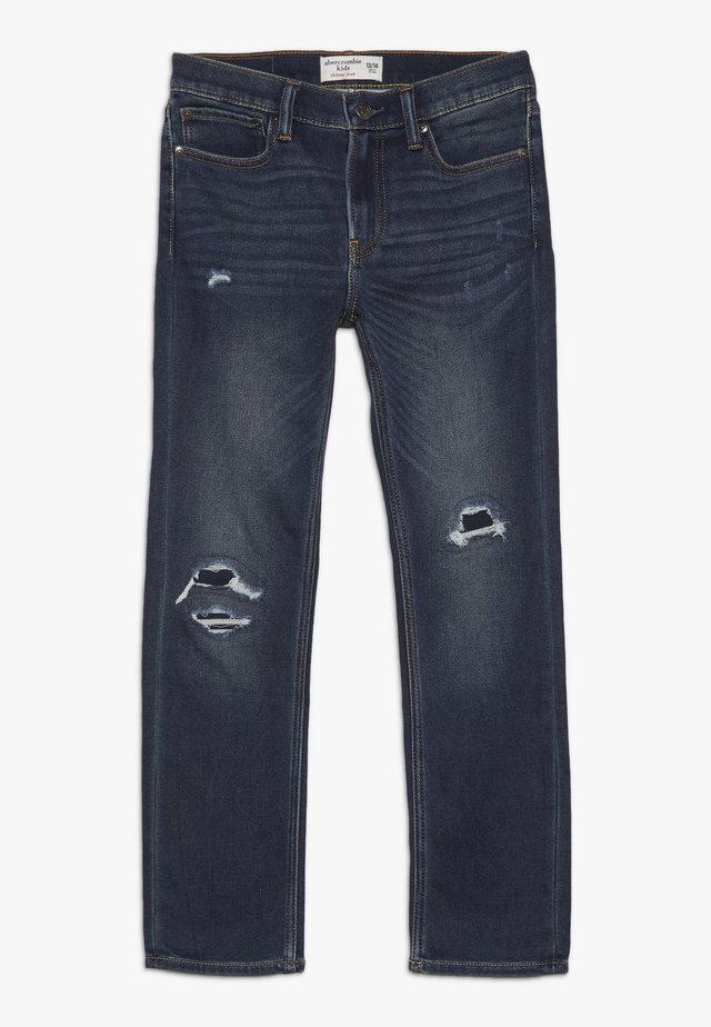 DARK DESTROY SKINNY  - Jeans Skinny Fit - dark blue