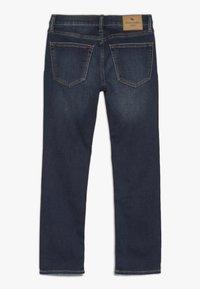 Abercrombie & Fitch - DARK DESTROY SKINNY  - Jeans Skinny Fit - dark blue - 1