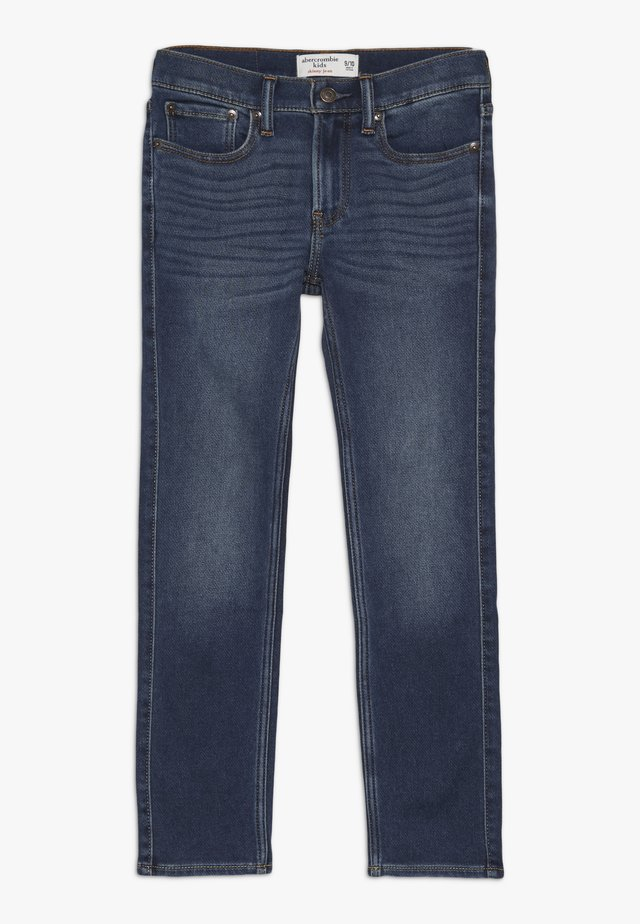 SKINNY - Slim fit jeans - blue denim