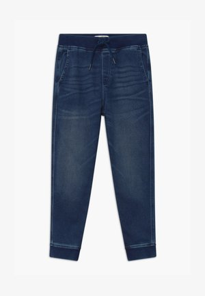 Tracksuit bottoms - blue denim