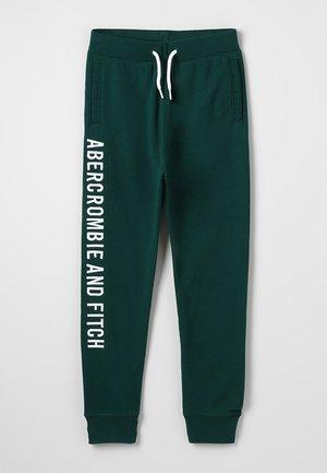 VARSITY LOGO - Teplákové kalhoty - green
