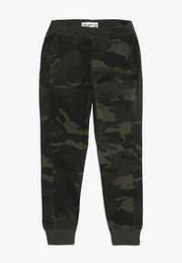 Abercrombie & Fitch - BETTER CAMO JOGGER - Pantalon classique - khaki - 0
