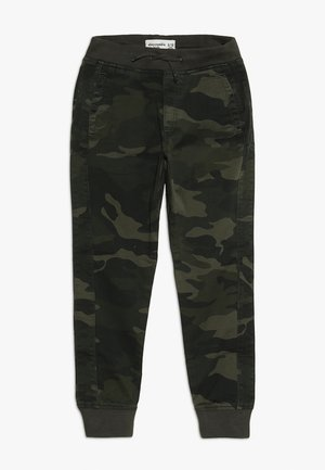BETTER CAMO JOGGER - Trousers - khaki
