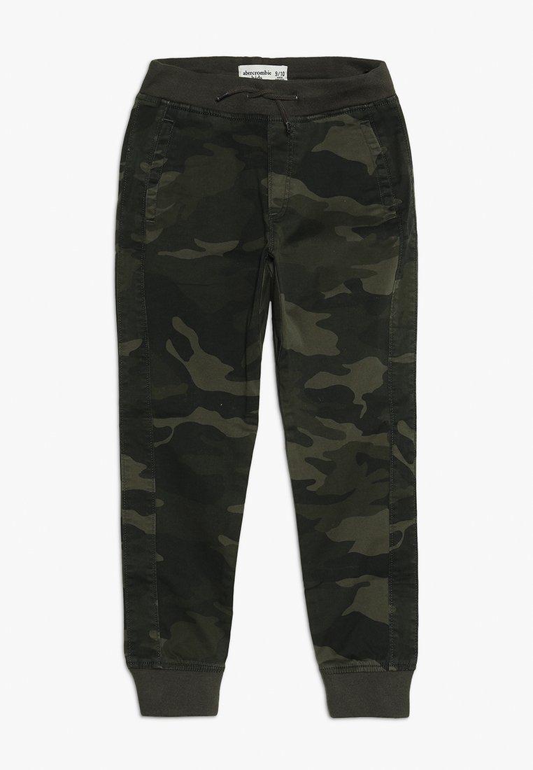 Abercrombie & Fitch - BETTER CAMO JOGGER - Pantalon classique - khaki