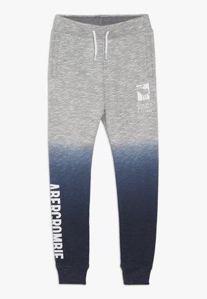 CORE LOGO - Teplákové kalhoty - grey/navy