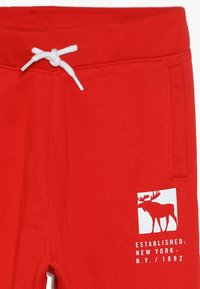 Abercrombie & Fitch - CORE LOGO - Trainingsbroek - red - 4