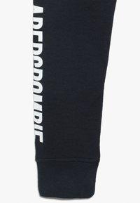 Abercrombie & Fitch - CORE LOGO - Pantaloni sportivi - navy solid - 2