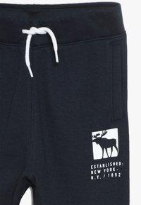Abercrombie & Fitch - CORE LOGO - Pantaloni sportivi - navy solid - 4