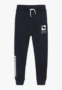 Abercrombie & Fitch - CORE LOGO - Pantaloni sportivi - navy solid - 0