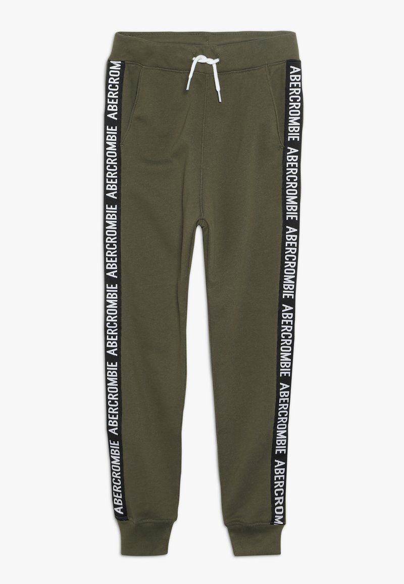 Abercrombie & Fitch - TAPE IT TO THE LIMIT - Joggebukse - olive