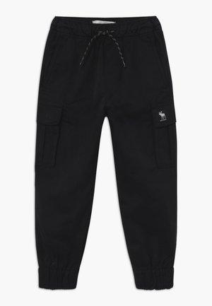 UTILITY - Cargo trousers - black