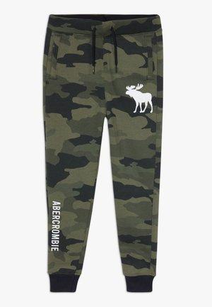TECHNIQUE LOGO  - Pantalon de survêtement - khaki