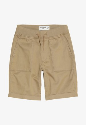 PULL ON  - Shorts - beige
