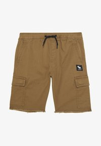 Abercrombie & Fitch - RAW PULL ON CARGO - Shorts - khaki - 1