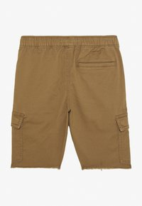 Abercrombie & Fitch - RAW PULL ON CARGO - Shorts - khaki - 0