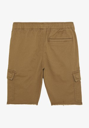 RAW PULL ON CARGO - Shortsit - khaki