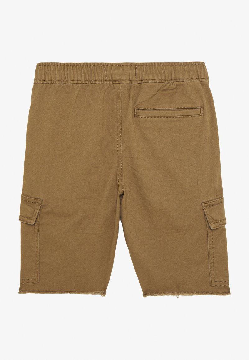Abercrombie & Fitch - RAW PULL ON CARGO - Shorts - khaki