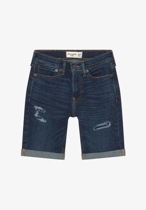 CORE - Shorts vaqueros - dark blue denim