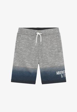 LOGO - Teplákové kalhoty - grey/dark blue