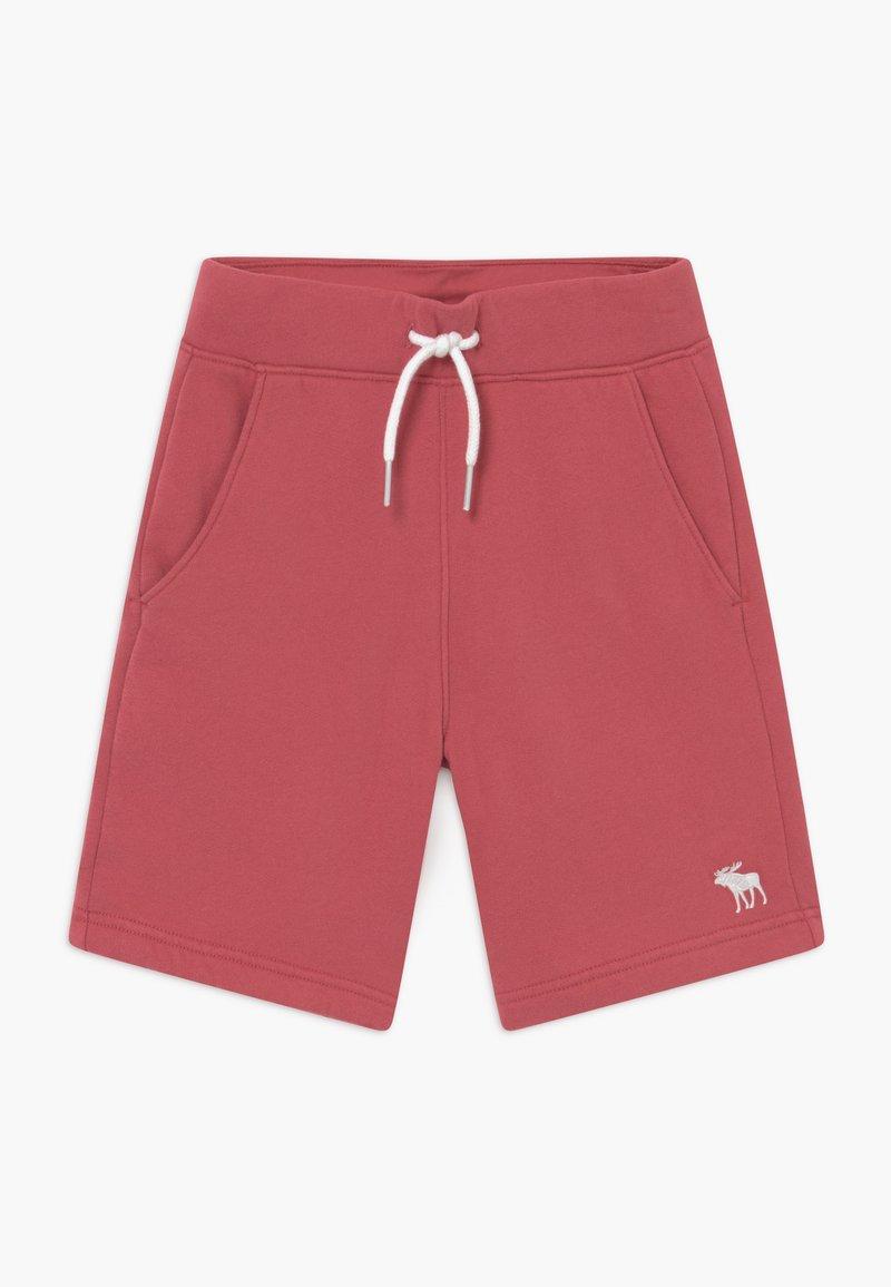 Abercrombie & Fitch - ICON - Teplákové kalhoty - red