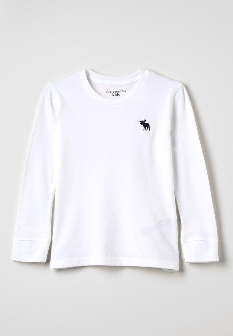 Abercrombie & Fitch - BASIC CREW - Langarmshirt - white