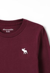 Abercrombie & Fitch - BASIC CREW - Long sleeved top - burg - 4