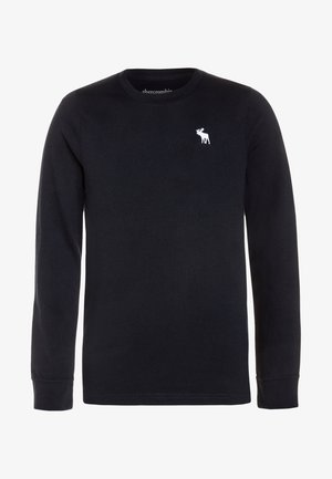 BASIC CREW - Long sleeved top - navy
