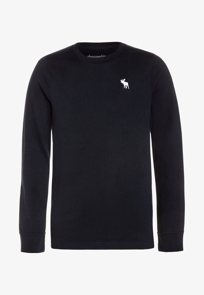 Abercrombie & Fitch - BASIC CREW - Long sleeved top - navy