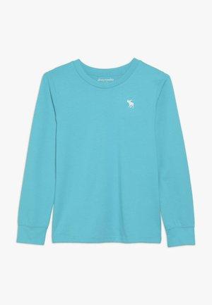 BASIC CREW - Långärmad tröja - turquoise