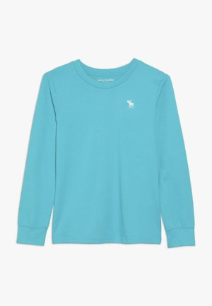 BASIC CREW - T-shirt à manches longues - turquoise