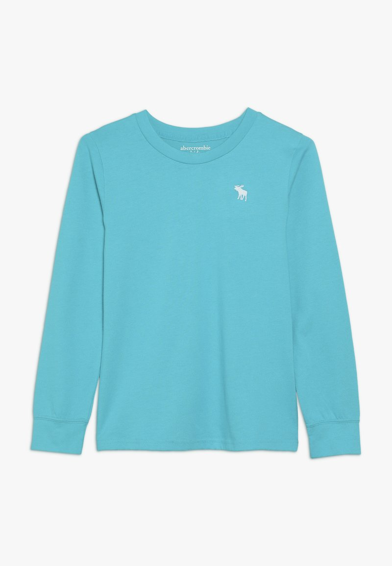 Abercrombie & Fitch - BASIC CREW - Maglietta a manica lunga - turquoise