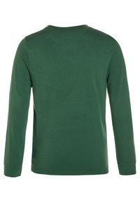Abercrombie & Fitch - BASIC CREW - Maglietta a manica lunga - green - 1