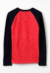 Abercrombie & Fitch - RAGLAN - Pitkähihainen paita - red/navy - 1