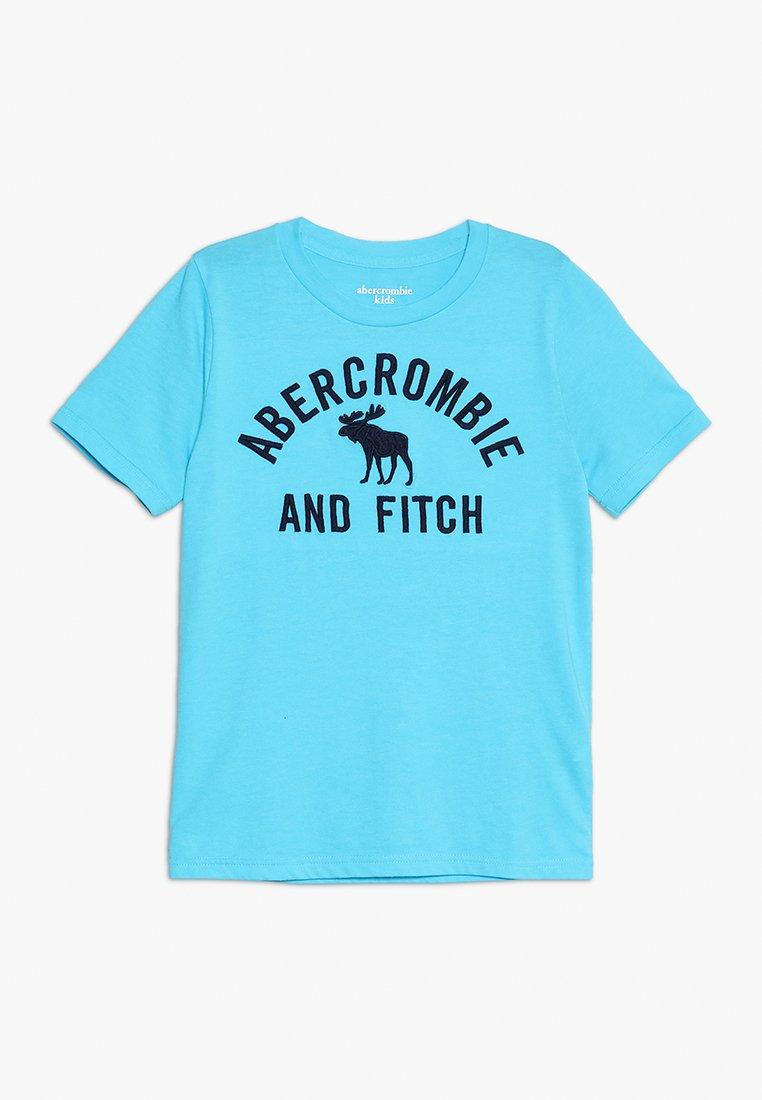 Abercrombie & Fitch - TECH MONEYMAKER  - T-Shirt print - light blue