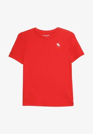 BASIC CREW - T-shirt basic - red