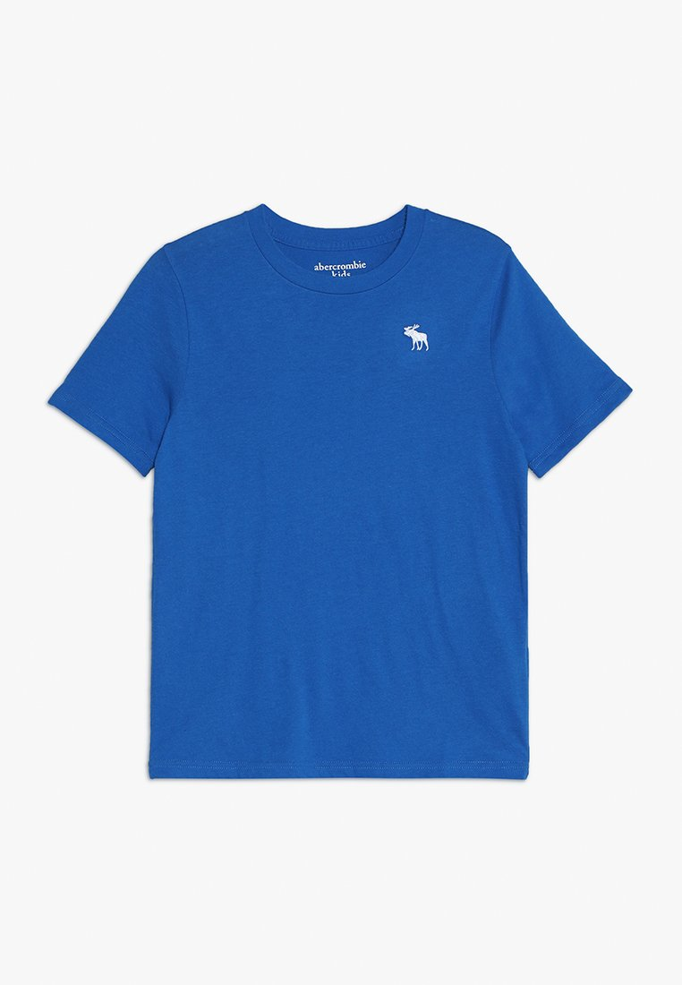 Abercrombie & Fitch - BASIC CREW - T-Shirt basic - blue