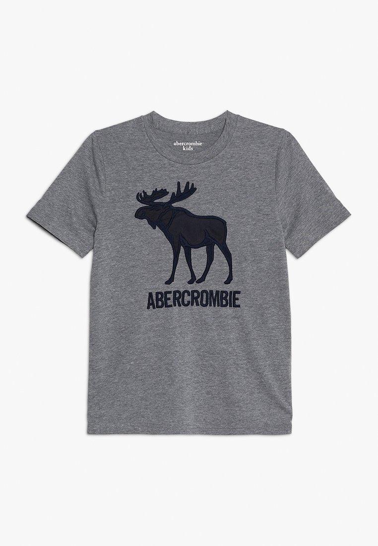 Abercrombie & Fitch - JAN TECH LOGO - T-Shirt print - grey